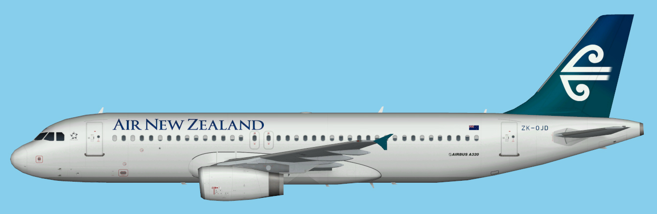 NZFF • AI repaints for Air New Zealand