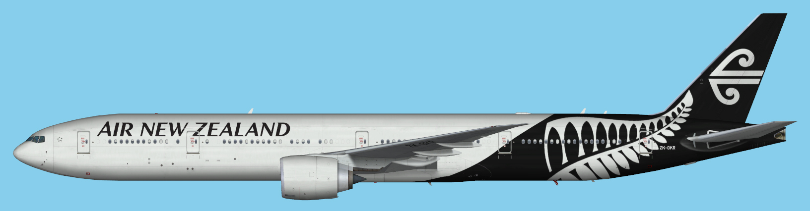 Air New Zealand Boeing 777-300ER FSPainter FSX | JCAI