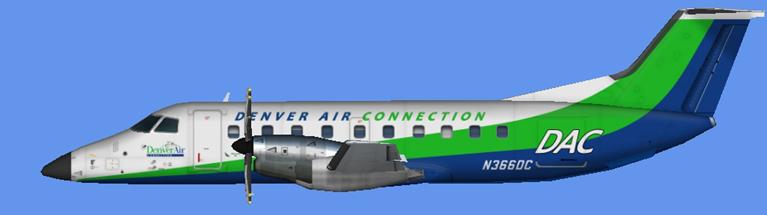 Denver Air Charter (Key Lime) EMB-120 FSX   JCAI