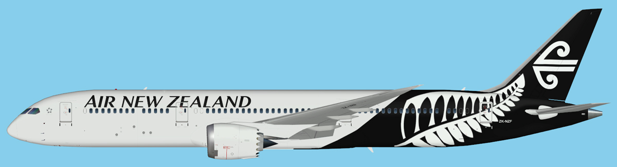 Air New Zealand Boeing 787-9 UTT Model | JCAI